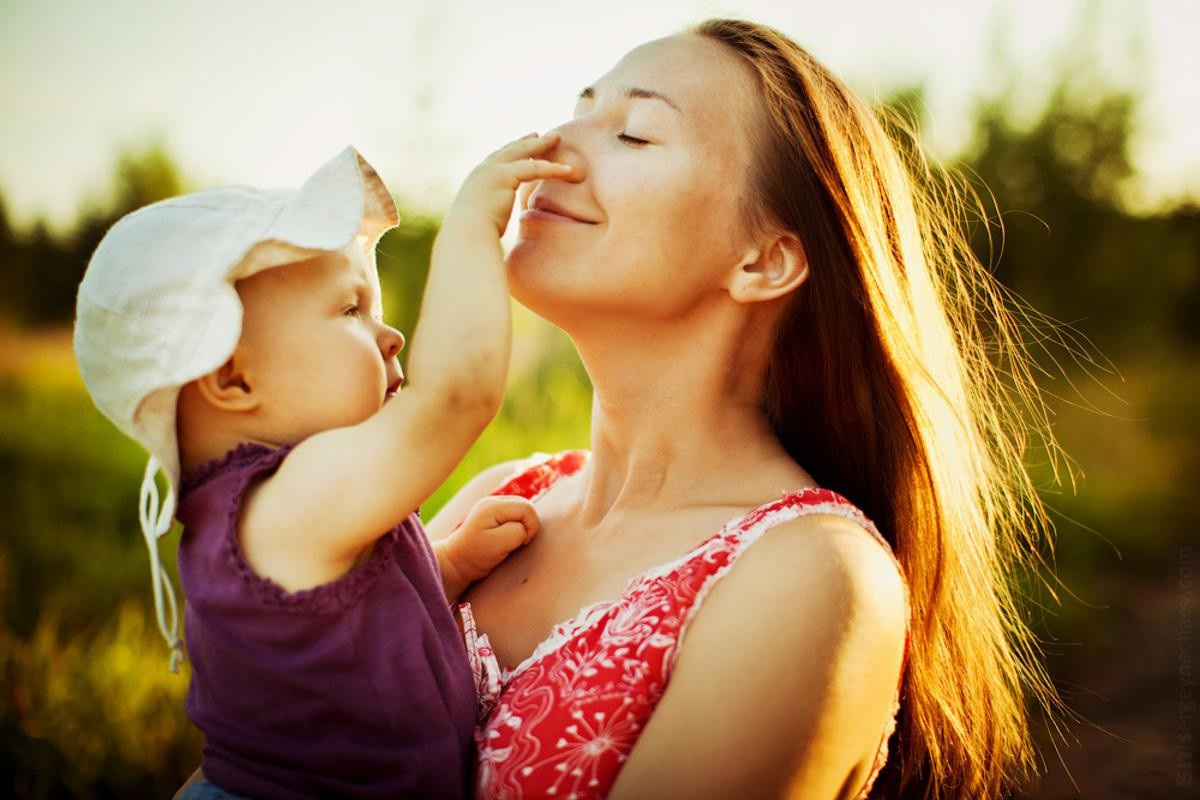 Картинки счастливой мамы и ребенка